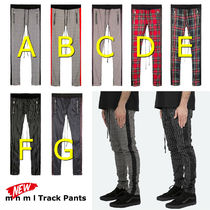 MNML Tapered Pants Stripes Other Plaid Patterns Street Style
