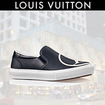 Louis Vuitton Leather Loafers & Slip-ons