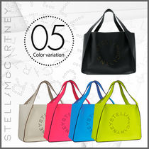 Stella McCartney Casual Style Plain Totes