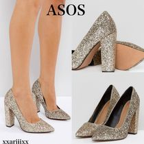 ASOS Plain Block Heels Elegant Style Shoes