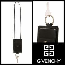 GIVENCHY Leather Keychains & Holders