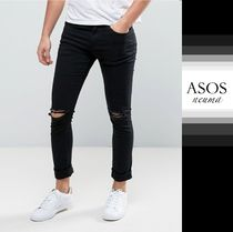 ASOS Denim Street Style Plain Skinny Fit Jeans & Denim