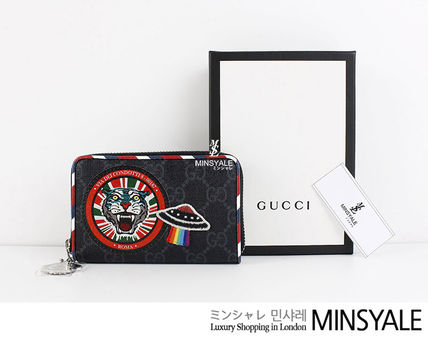 95bbb2ae5093cb ... GUCCI Card Holders Night Courrier GG Supreme [London department store  new item] ...