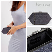 ASOS 2WAY Chain Plain Party Style Clutches