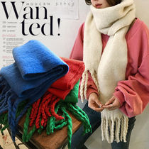 NANING9 Casual Style Plain Lightweight Scarves & Shawls