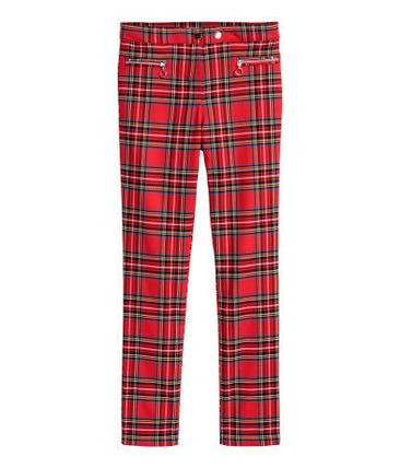 Other Check Patterns Collaboration Long Party Style Pants