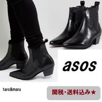 ASOS Plain Leather Chelsea Boots Chelsea Boots