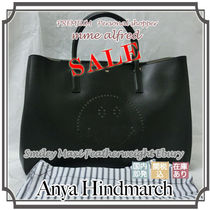 Anya Hindmarch A4 Plain Leather Totes