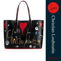 Christian Louboutin Unisex A4 Leather Totes