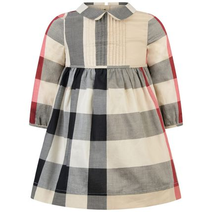 cf4737438cda ... Burberry Baby Girl Dresses & Rompers Baby Girl Dresses ...