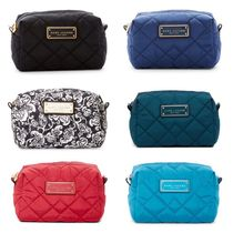 MARC JACOBS Unisex Nylon Plain Pouches & Cosmetic Bags