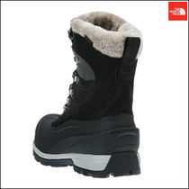 THE NORTH FACE Argile Mountain Boots Round Toe Rubber Sole Casual Style