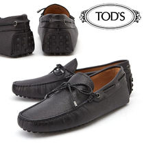 TOD'S Loafers Plain Leather Loafers & Slip-ons