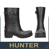 HUNTER Rubber Sole Ankle & Booties Boots