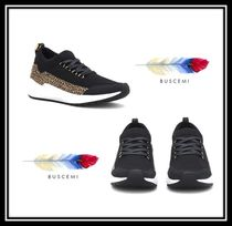 BUSCEMI Rubber Sole Blended Fabrics Other Animal Patterns Leather