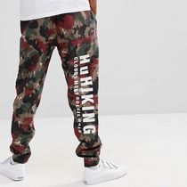 adidas Printed Pants Camouflage Street Style Collaboration Logo
