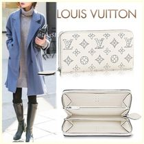 Louis Vuitton ZIPPY WALLET Monogram Blended Fabrics Leather Long Wallets
