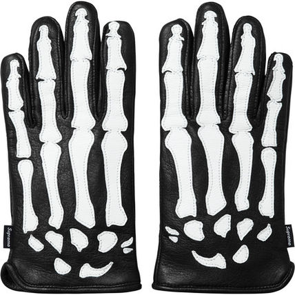 Mens Leather & Faux Leather Gloves