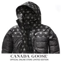 CANADA GOOSE Short Star Plain Down Jackets