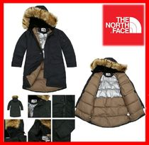 THE NORTH FACE Casual Style Unisex Street Style Down Jackets