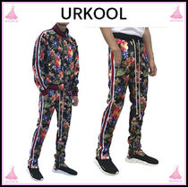 URKOOL Printed Pants Flower Patterns Patterned Pants
