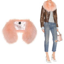 Mr & Mrs Furs Casual Style Plain Detachable Collars