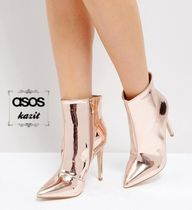 ASOS Pin Heels Elegant Style Ankle & Booties Boots