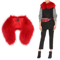 Mr & Mrs Furs Casual Style Street Style Plain Detachable Collars