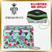 Emilio Pucci 2WAY Chain Party Style Clutches