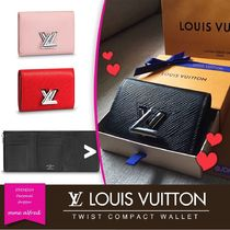 Louis Vuitton EPI Plain Leather Folding Wallets