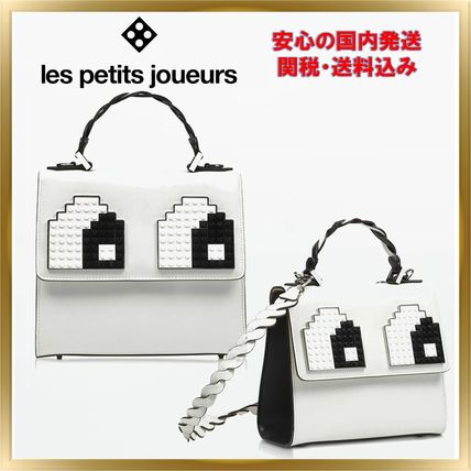 Casual Style Unisex 2WAY Plain Leather Handbags