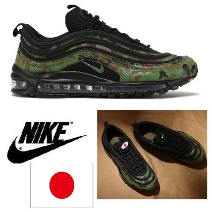 Nike AIR MAX 97 2017 18AW Camouflage Unisex Sneakers