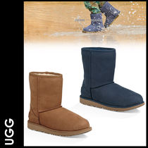 UGG Australia CLASSIC SHORT Petit Street Style Kids Girl Boots