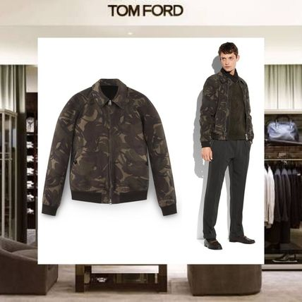 2f8325e3aff57 TOM FORD 2018 SS Short Camouflage Leather Jackets by Absorb - BUYMA
