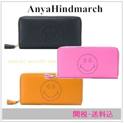 Tassel Leather Long Wallets