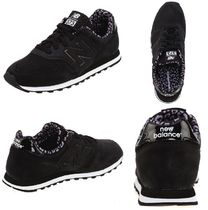 New Balance 373 Leopard Patterns Low-Top Sneakers