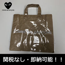 COMME des GARCONS Casual Style Street Style Crystal Clear Bags Totes