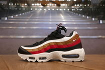 Nike AIR MAX 97 Street Style Plain Leather Sneakers