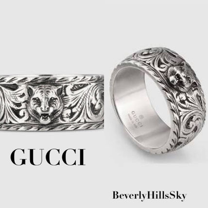 GUCCI Silver Rings 433571 J8400 0811 by riasian BUYMA