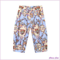 GUCCI Flower Patterns Casual Style Other Animal Patterns Cotton