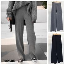 Casual Style Street Style Plain Long Pants