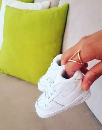 Nike AIR FORCE 1 Unisex Street Style Baby Girl Shoes