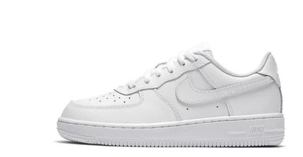 Nike AIR FORCE 1 Unisex Street Style Kids Girl Sneakers