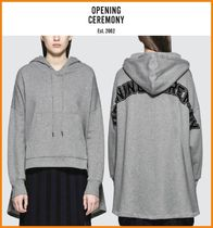 OPENING CEREMONY Casual Style Long Sleeves Cotton Long Hoodies & Sweatshirts