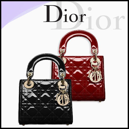 Dior Handbags 2way Leather Elegant Style