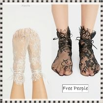 Free People Flower Patterns Lace Socks & Tights