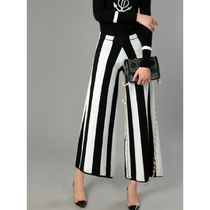 Stripes Casual Style Culottes & Gaucho Pants