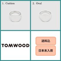 Tom Wood Unisex Silver Elegant Style Rings