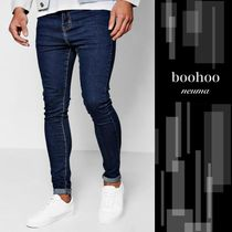 boohoo Plain Cotton Skinny Fit Jeans & Denim