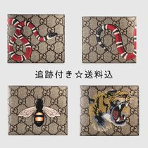 GUCCI Monoglam Cambus Blended Fabrics Street Style